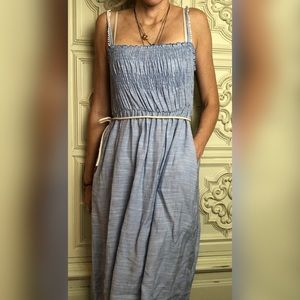 Mango sleeveless midi dress